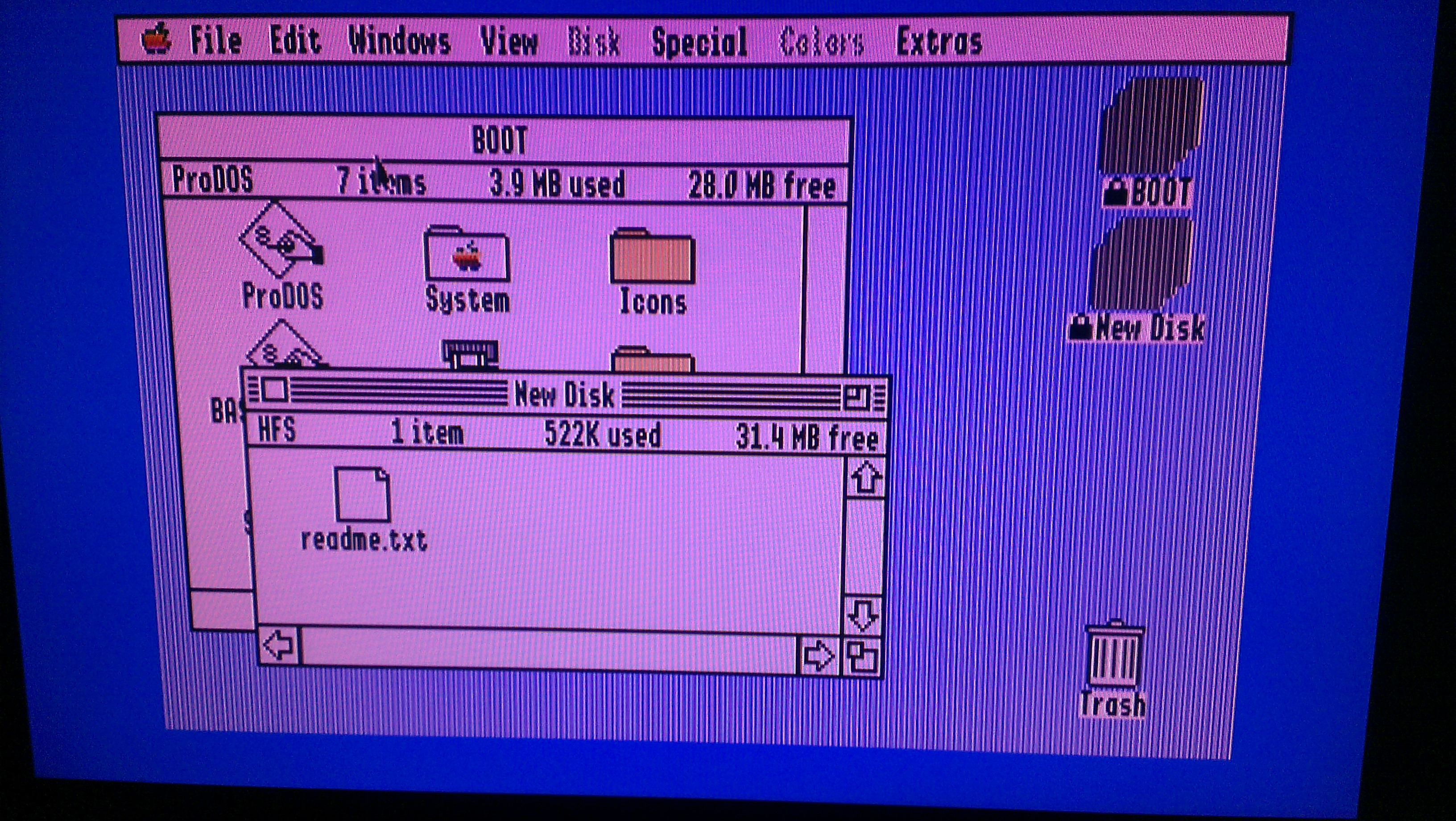 Creating an Apple IIgs GS/OS Live CD | think simple, live simple